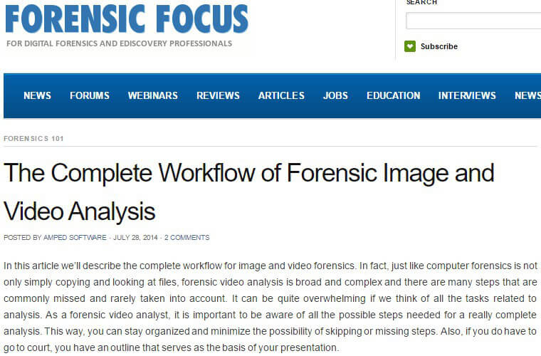 Forensic Focus 28/05/14